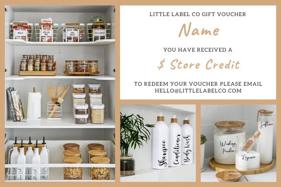 Gift Voucher - Little Label Co