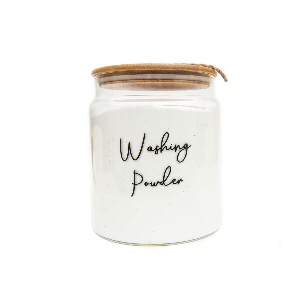 Glass Jar with Bamboo and Twine Lid - 4L