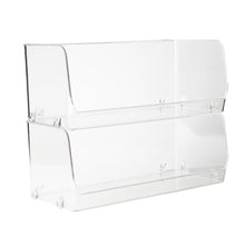 Clear Stackable Organiser Large
