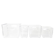 Clear Storage Tub Large