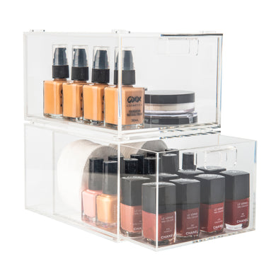 Acrylic Stackable Drawer Organiser
