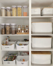 Fridge and Medium Storage Tub Labels