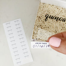 Use By Date Labels - Little Label Co