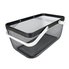 Black Large Handy Storage Basket - Little Label Co