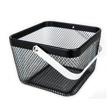 Black Small Handy Storage Baskets