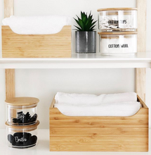 Small Bamboo Storage Tub