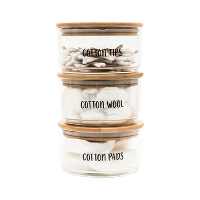 Stackable Jar Labels - Little Label Co