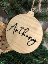 Personalised Acrylic Ornaments