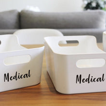 Fridge/Food Storage Tub Labels