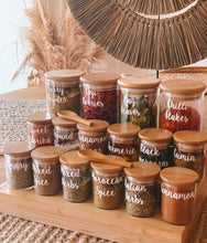 Herb & Spice Jar Labels - Little Label Co