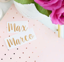 Personalised Name Labels - Little Label Co