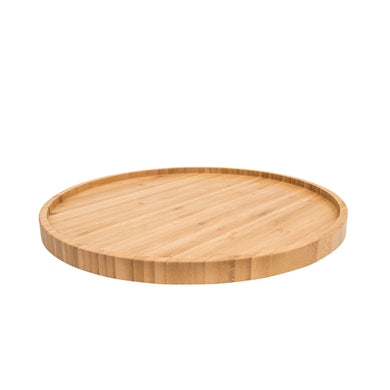 Bamboo 35cm Round Tray - Little Label Co