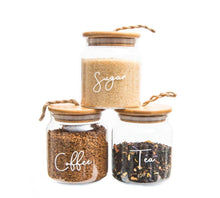 Coffee/Tea/Sugar Jars with Twine 500ml - Little Label Co