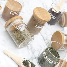 Herb & Spice Mini Wooden Spoon - Little Label Co