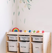 Toyroom/Storage Tub Labels - Little Label Co
