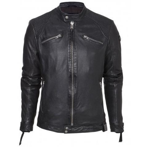 Casper Mens Leather Jacket - fadcloset