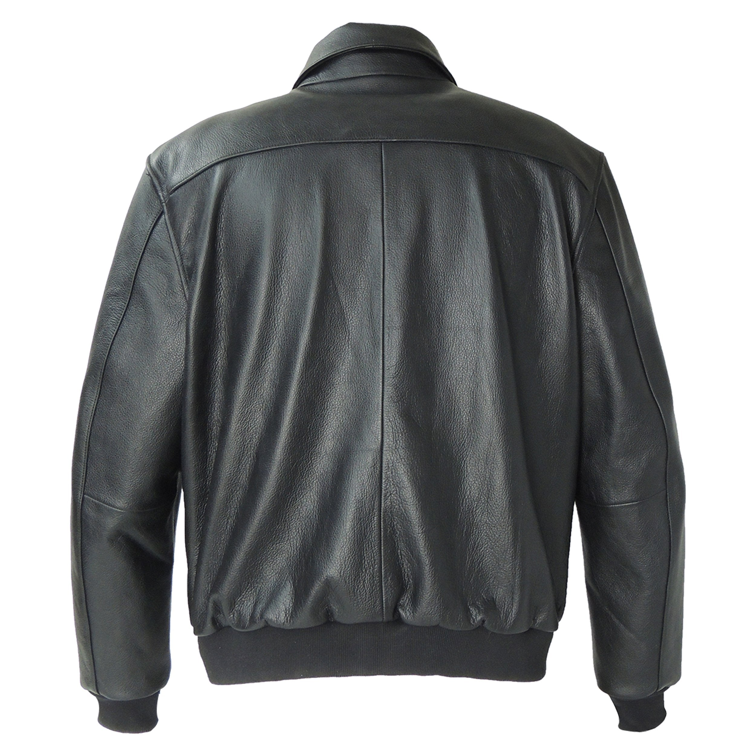 Mens A2 Flight Jacket Goatskin Leather - fadcloset