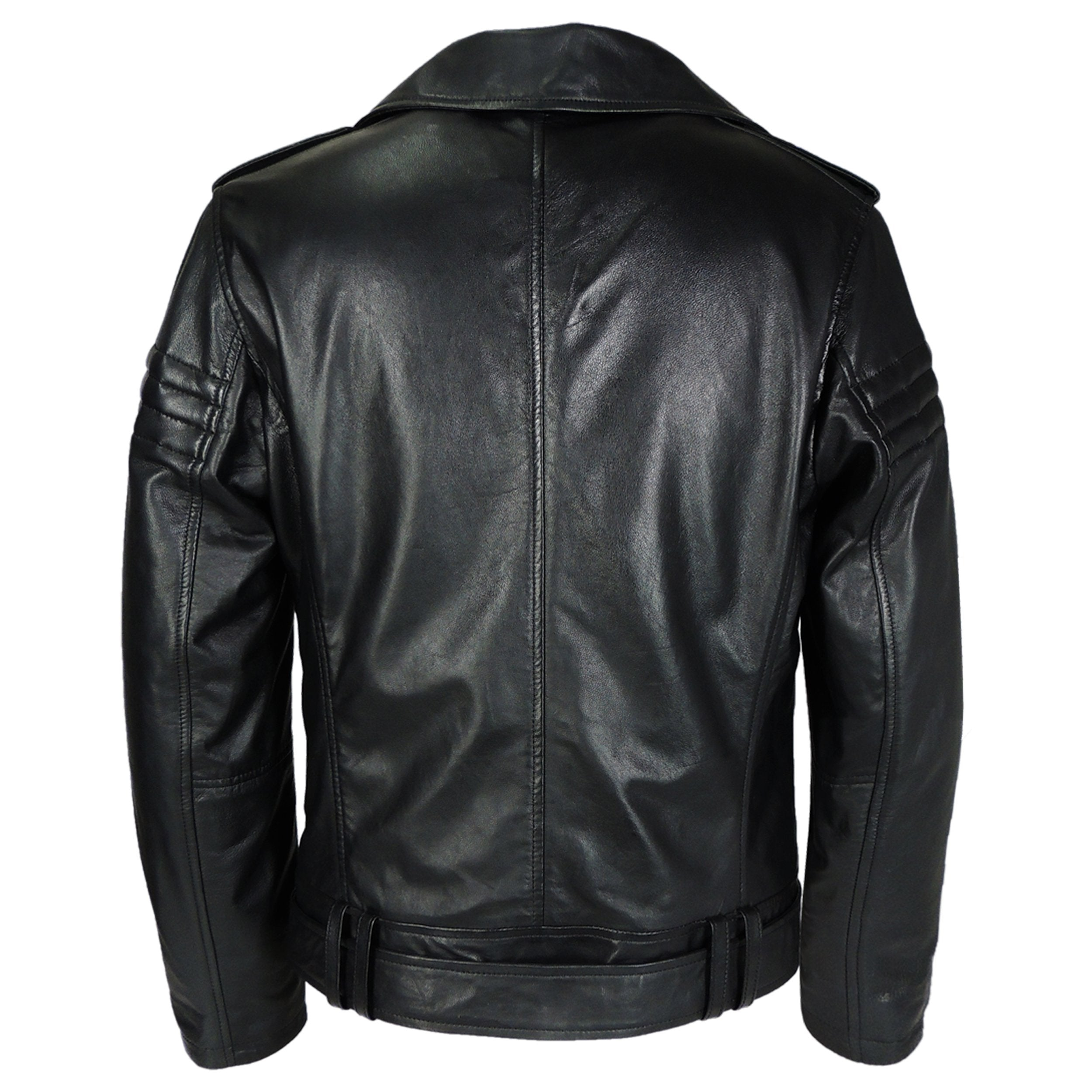 Leather Jacket - Mens Gavin Moto Leather Jacket - Very Popular