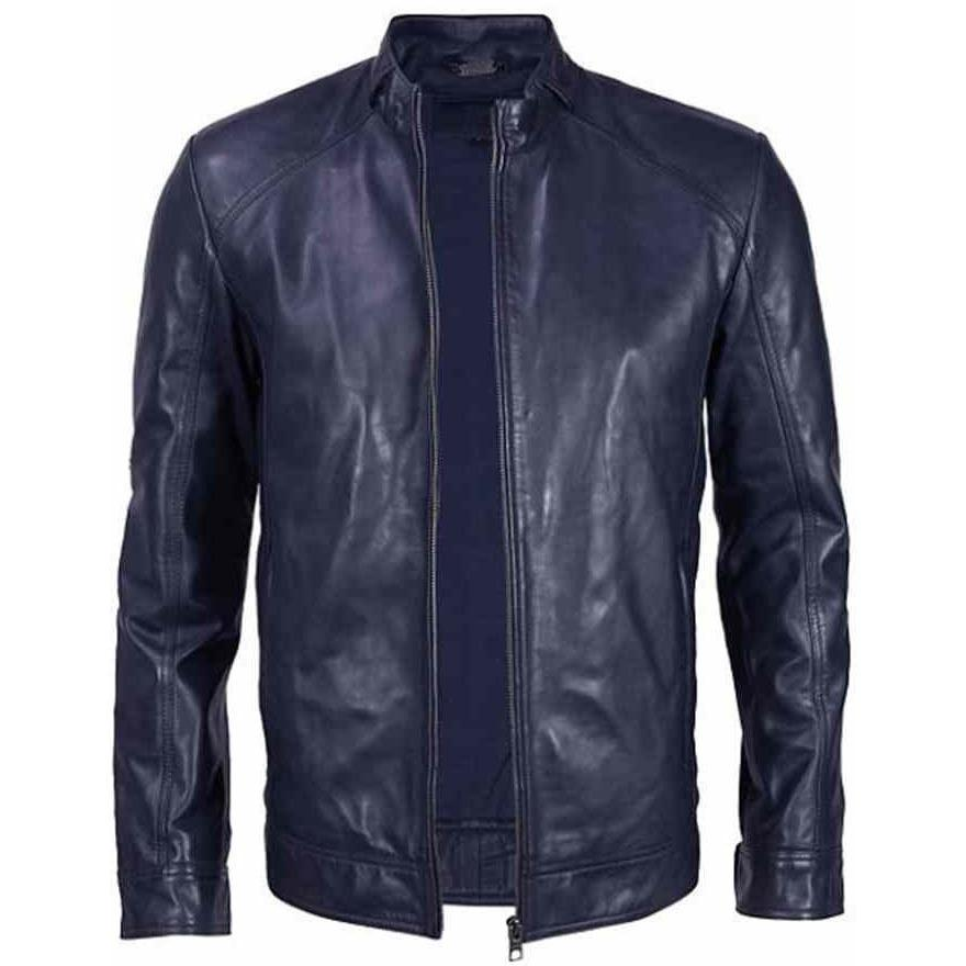 Leather Jacket - Mens Halem Sport Leather Jacket