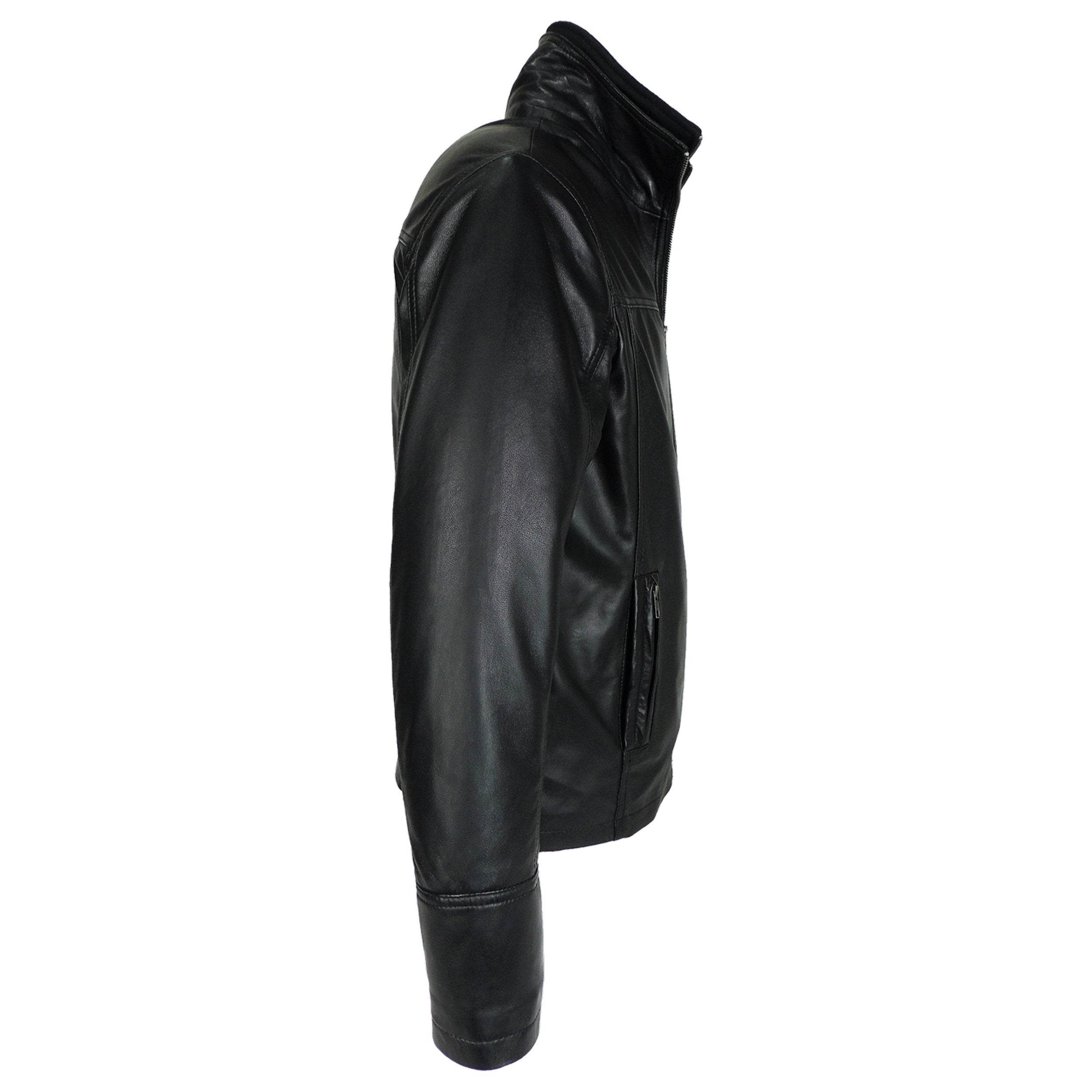 Leather Jacket - Mens Oxford Csaba Leather Jacket - Discounted!