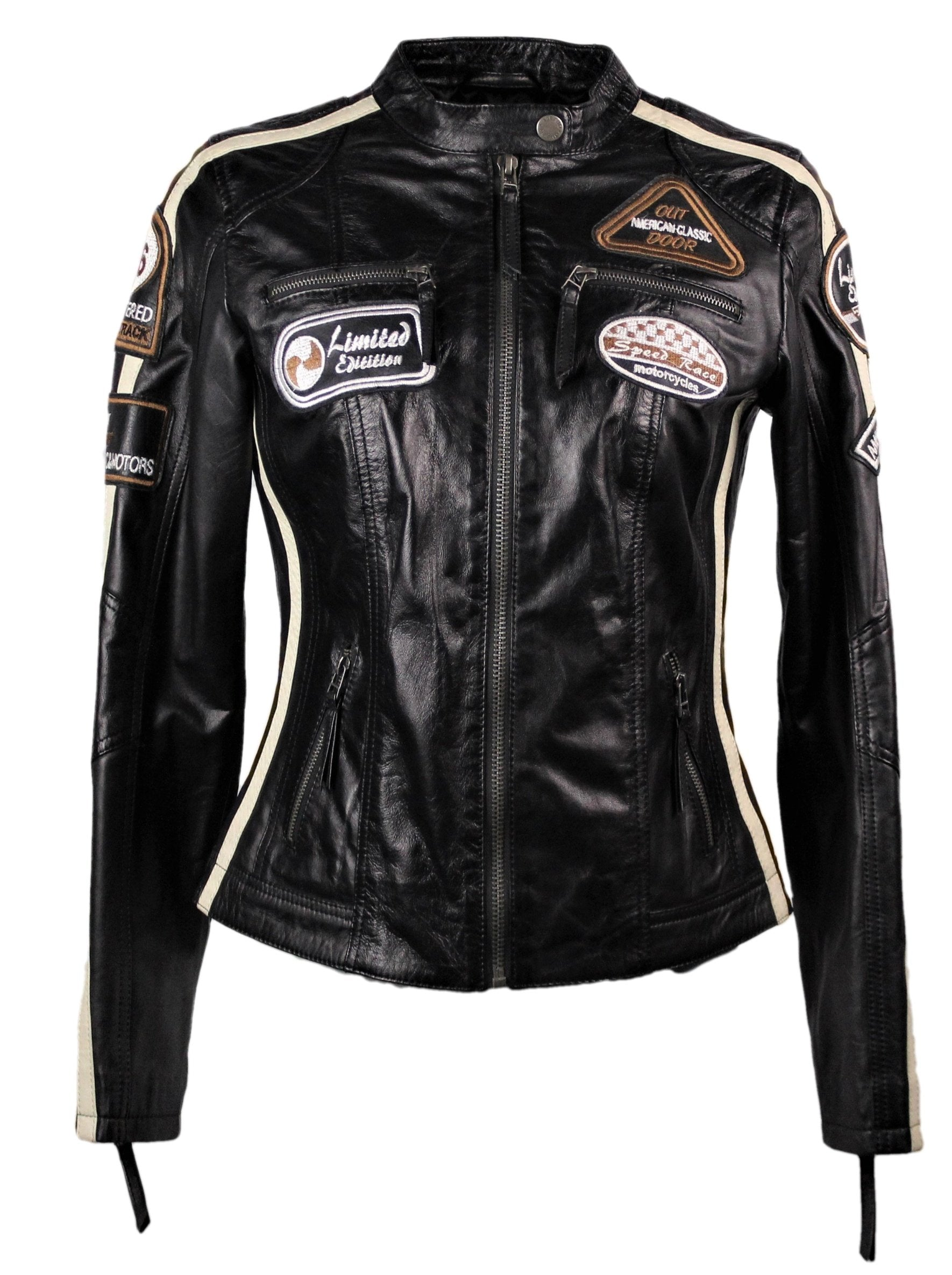 Women's Moto GP Racing Black Jacket - Sold Out - fadcloset