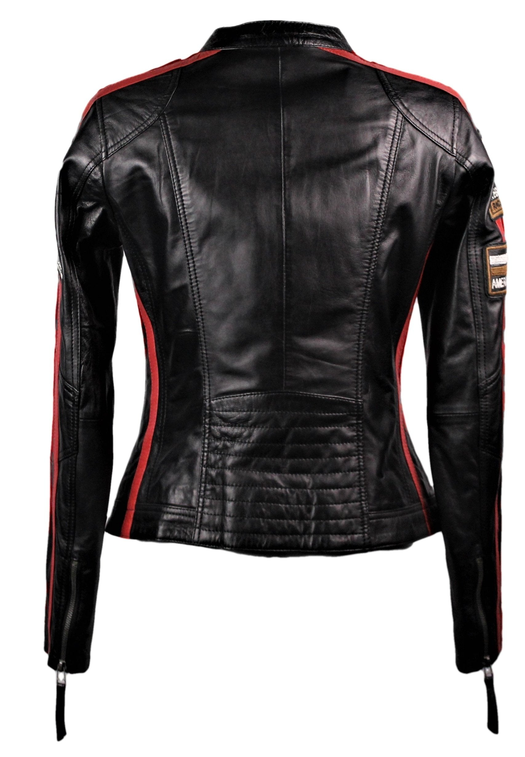 Women's Moto GP Racing Black Jacket - One Left