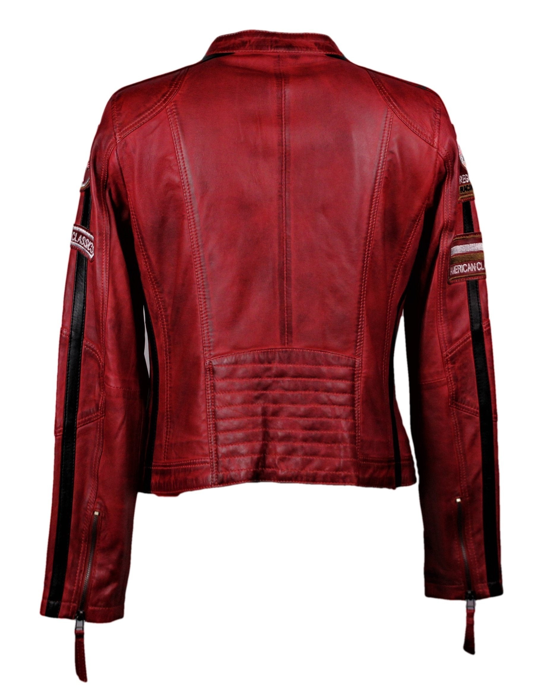 Women's Moto GP Racing Red Jacket - One Left