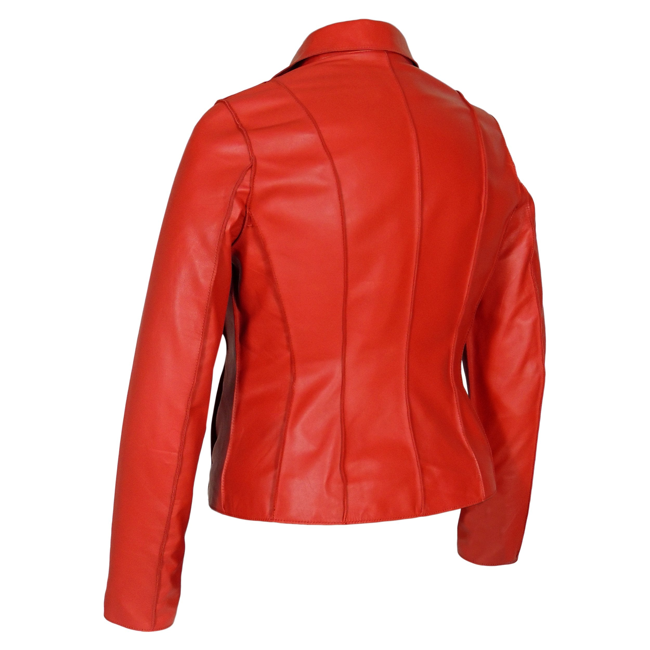 Aaliya Womens Sheepskin Leather Jacket, [option2] - Fadcloset