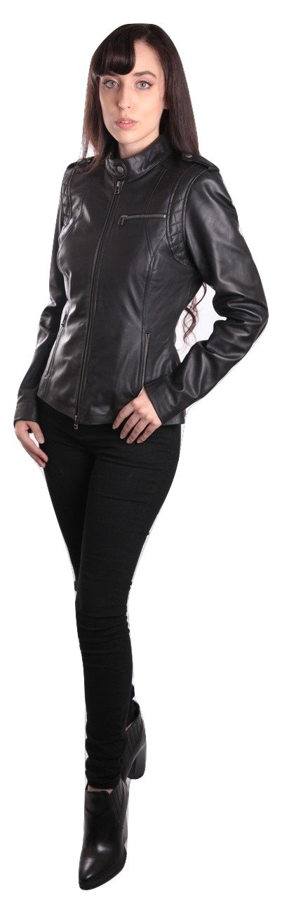 Womens Leather Jacket - Allie Womens Leather Jacket