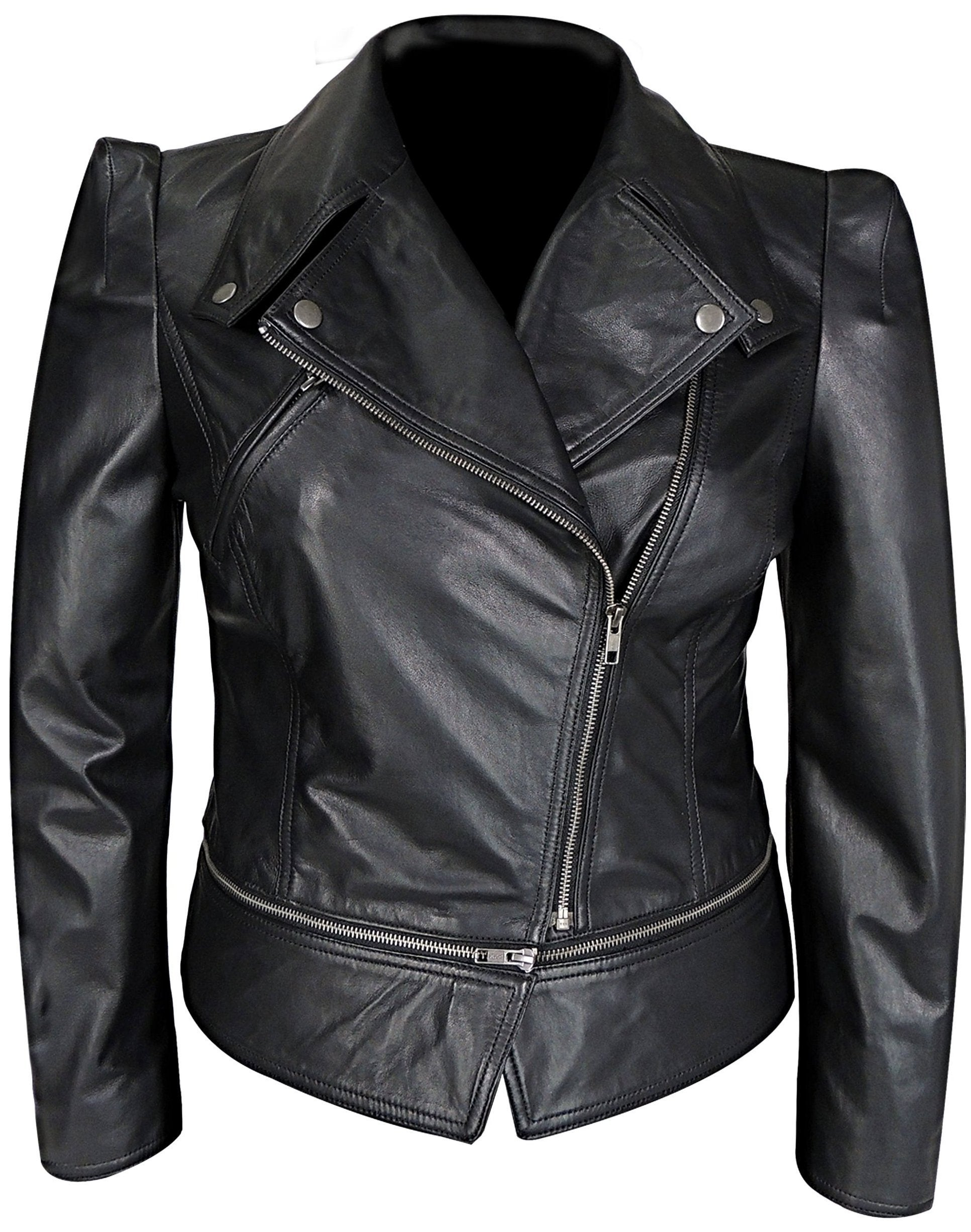 Womens Leather Jacket - Annette Womens Leather Jacket - Discounted!