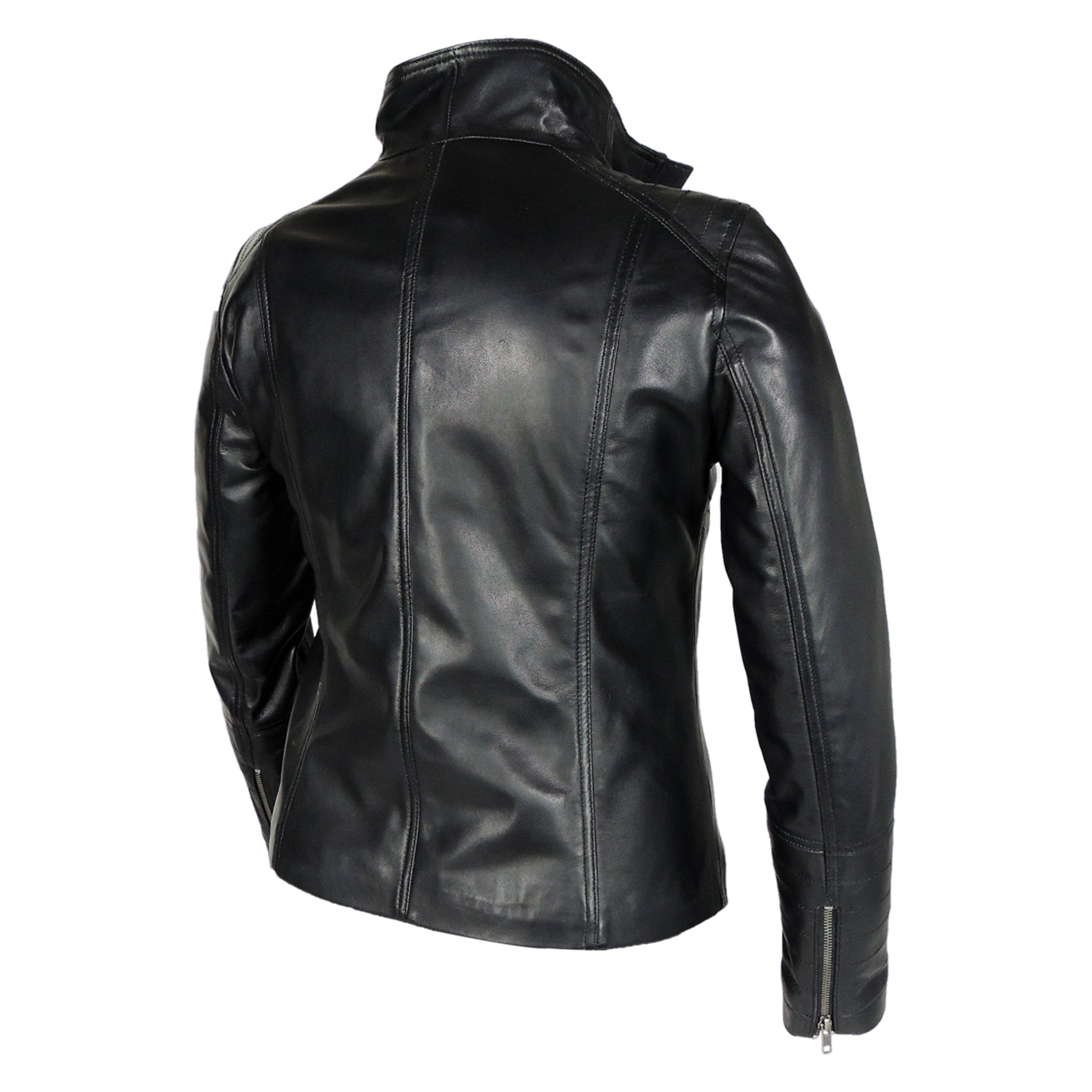 Womens Leather Jacket - Arra Womens Leather Jacket - Discounted!