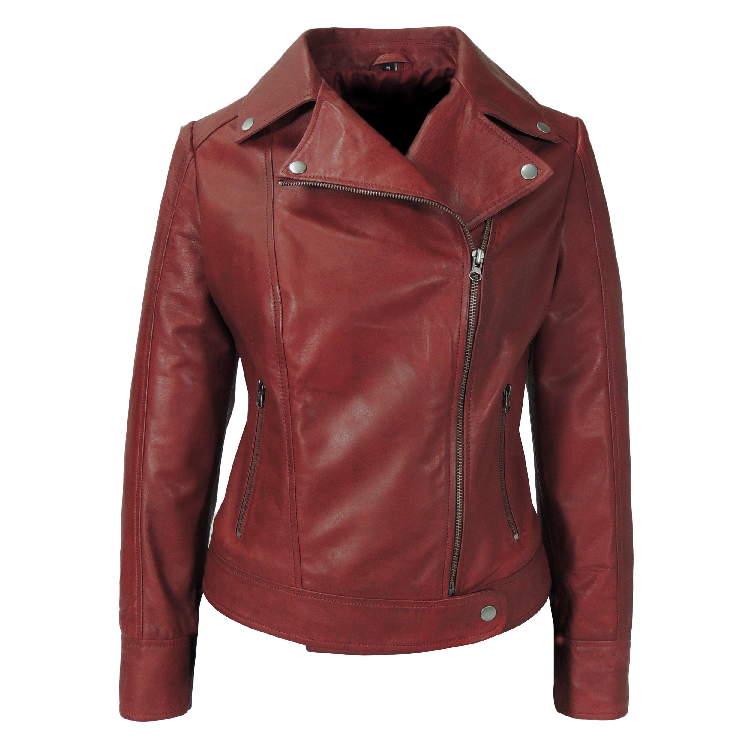 Aurora Womens Leather Jacket, [option2] - Fadcloset