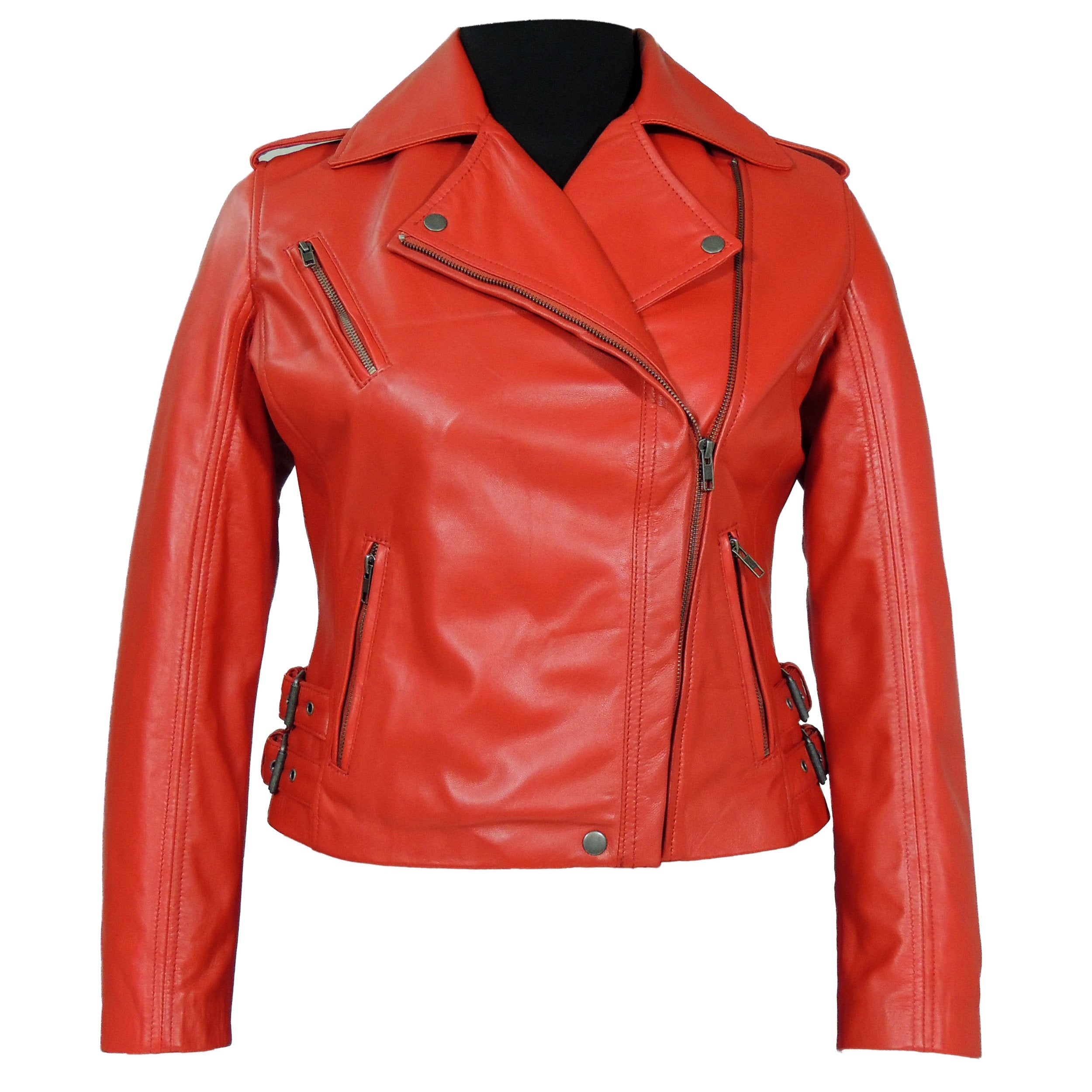 Womens Leather Jacket - Ava Womens Leather Jacket