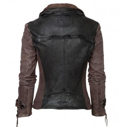 Womens Leather Jacket - Cadie Womens Leather Jacket