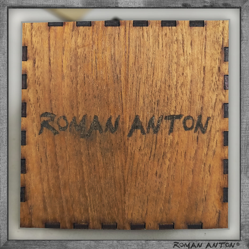 Roman Anton Box (Ash Plywood)