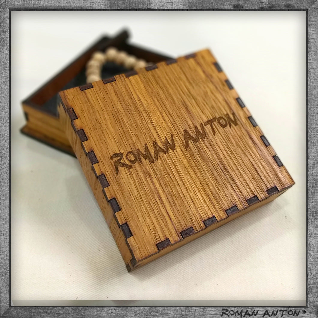 Roman Anton Box (Teak Plywood)
