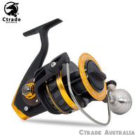 PELAGIC 18000 Spinning Reel 30kg Drag Built Tough - Ctrade Australia