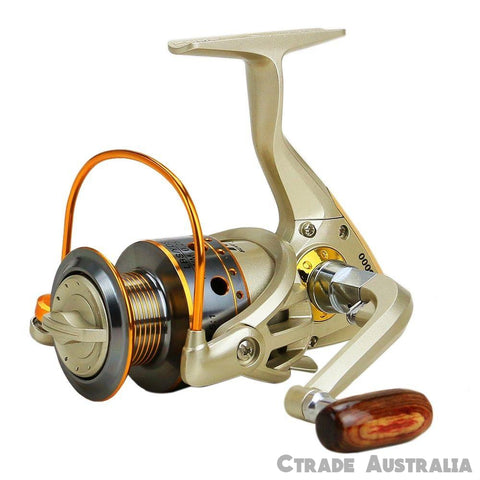 Qty = 1 JX3000 Spinning Reel 10 B/Bearings Stainless - Ctrade Australia