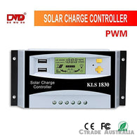 Solar Charge Controller 30A PWM Solar Regulator 12V/24V Backlight LCD ! Quality - Ctrade Australia