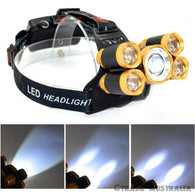 LED Headlamp Headlight Flashlight Head Light Lamp Torch Rechargeable CREE XML T6 - Ctrade Australia