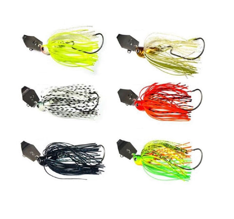 6 x 1/2 oz Spinnerbaits Spinner Lures Chatterbaits - Ctrade Australia