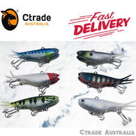 Qty = 6 Soft Plastic Vibe Transam Lures Forked Tail Vibe Lures - Ctrade Australia