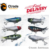 Soft Plastic Vibe Transam Lures Forked Tail Vibe Lures Qty = 6 Pack - Ctrade Australia