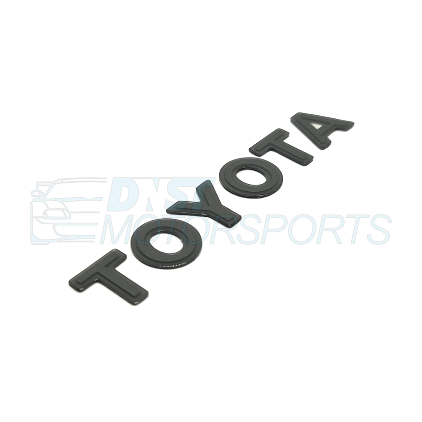 "Genuine Rear ""TOYOTA"" Gel Badge JZA80"