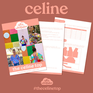 The Celine Top - PDF Pattern