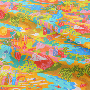 Sunshine State of Mind - GOTS Certified Organic Cotton Sateen