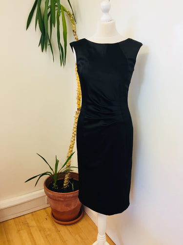 Mexx Metropolitan Pencil Fit Black Dress Size 10