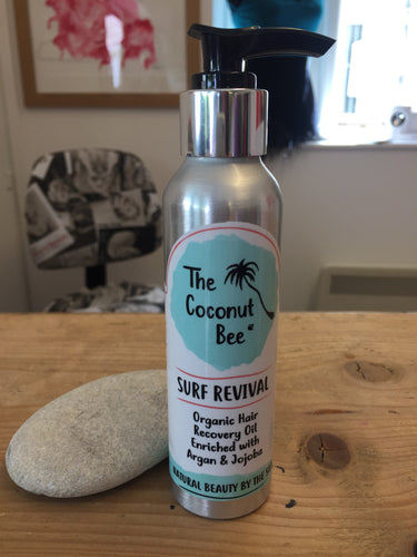 The Coconut Bee Surf Revival Organic Hair Oil