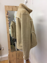 Riff Raff Faux Sheepskin Jacket Size XL ( Uk 14/16)