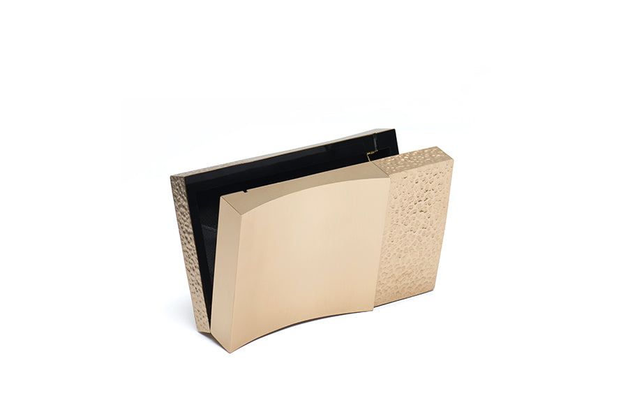Nathalie Trad Amelie Clutch Bag-Brass Clutch Bag